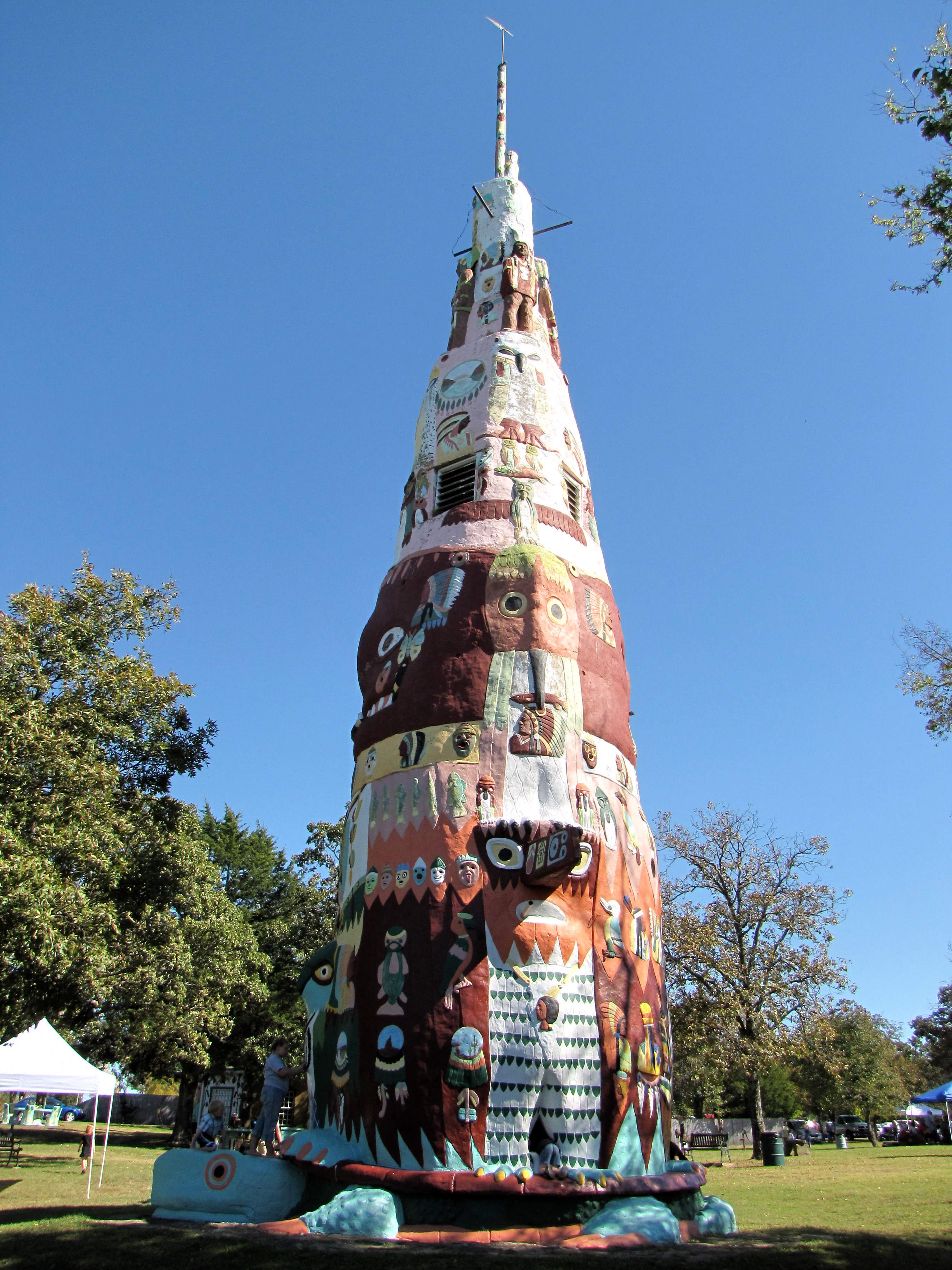 Totem pole park rogers county historical society